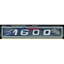 Эмблема малая на заднее крыло ВАЗ 2105, 07 / крышку багажника ВАЗ 2108, 09 1600 (1600)