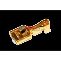 Клемма 0,38 мм. гнездовая (мама) серии 6,3 мм. под кабель 1-2,5 мм