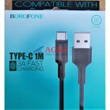 Кабель USB-C Borofone BX1 EzSync Type-C black