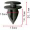 C 1287 Клипса внутренней отделки Fiat / Alfa Romeo / Lancia T=D=15.0, H=20.1, F=10.0  14186880