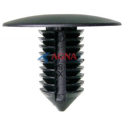 C 3343 Клипса GM 24501057 9,5мм фиксатор заднего брызговика, обшивки сиденья