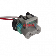 RP278 Разъем для вентилятора радиатора BOSCH 2-х контактный Deiphi 15363990 серии 630 metri-pack