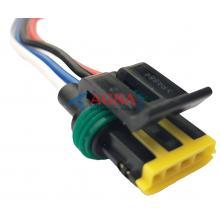 RP185 Разъем 444046-1 Daewoo Matiz Lanos РХХ регулятора холостого хода 4-контактный
