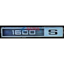 Эмблема на крылья старого образца ВАЗ 2105, 07 1600 S (1600s)