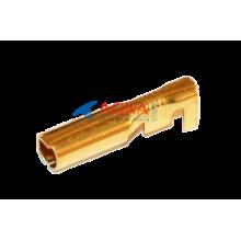 Клемма гнездовая (мама) сигнализации Ø 3,5 мм под кабель 0.25-0.75 мм.