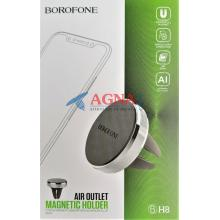 Автодержатель Borofone BH8 Magnetic AIR (Silver)