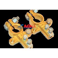 Клеммы АКБ латунные усиленные 16 мм2
