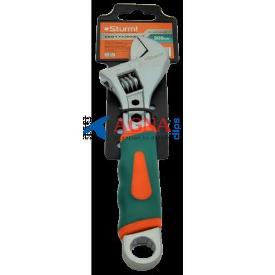 Ключ разводной Sturm 200 мм. CrV STEEL