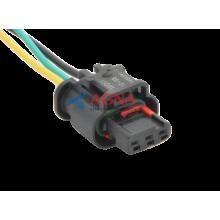 RP372 Разъем 3-х контактный аналог АМР 1-1670917-5 катушки зажигания для ГАЗ с двиг.405 (Евро 3)