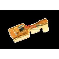 Клемма 0,3 мм. гнездовая (мама) серии 6,3 мм. под кабель 1-2,5 мм.