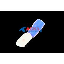 MDD 2-250 Клемма 6,3 мм. штырьевая (папа) в изоляции синяя